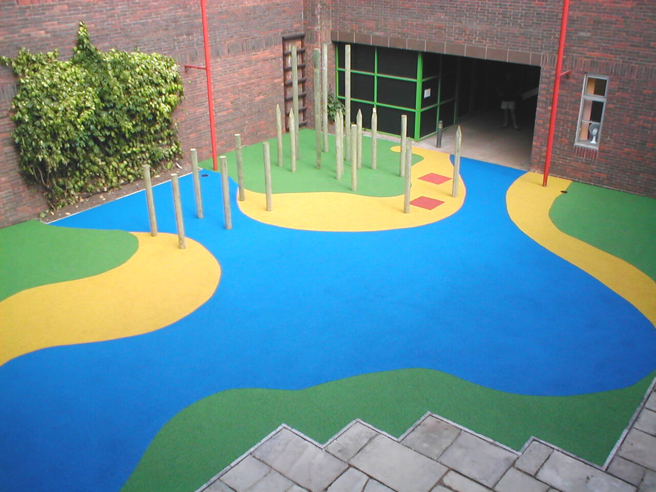 Hospital Wet Pour Surfacing