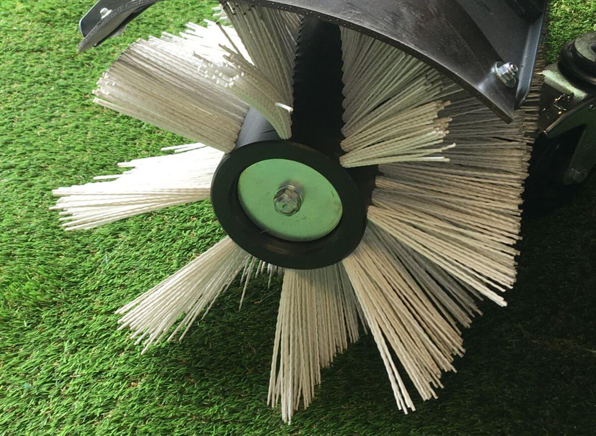 Artificial Grass Brushing