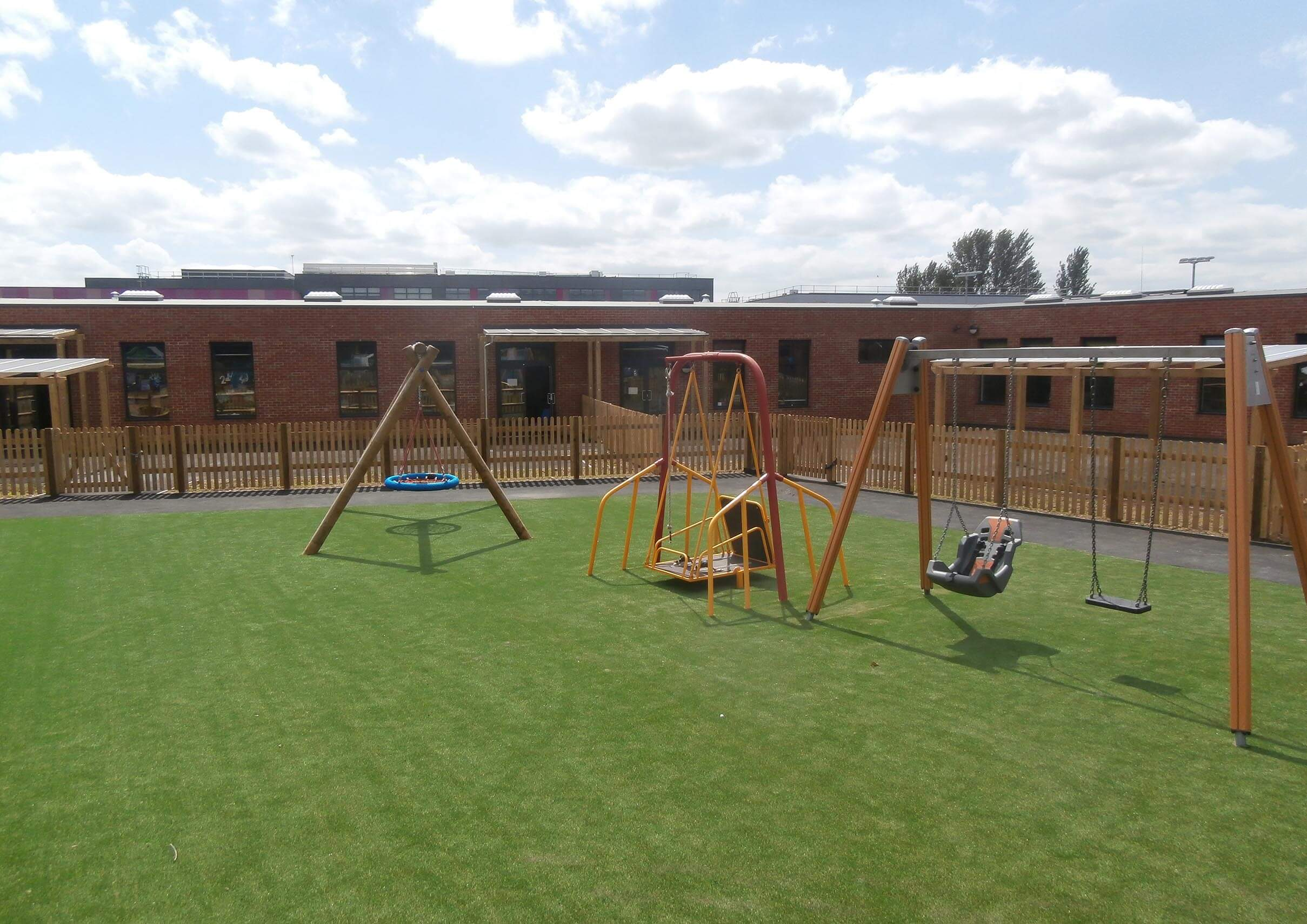 Play Grass is perfect for school playgrounds