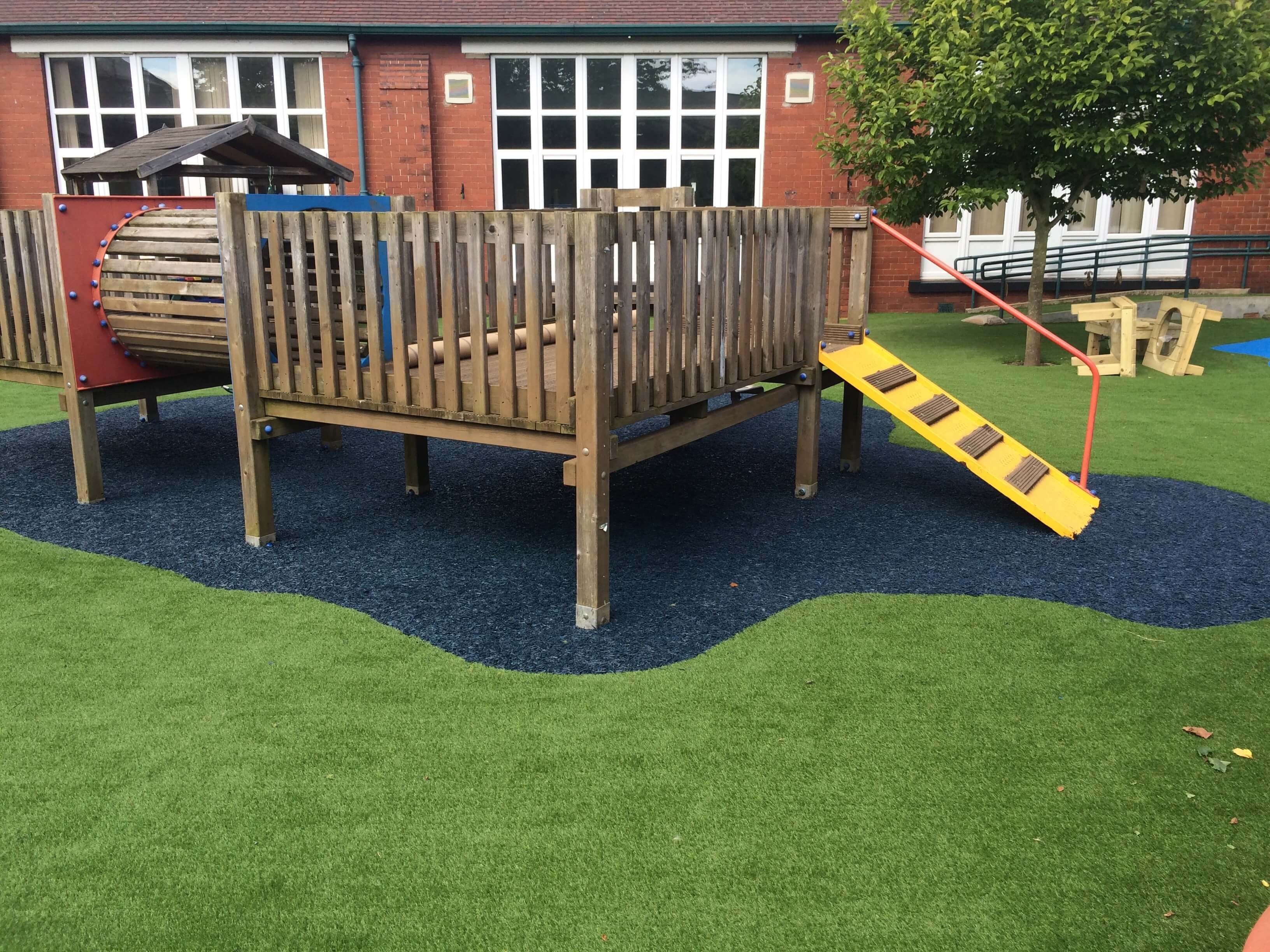 Play Grass is perfect for safer playgrounds
