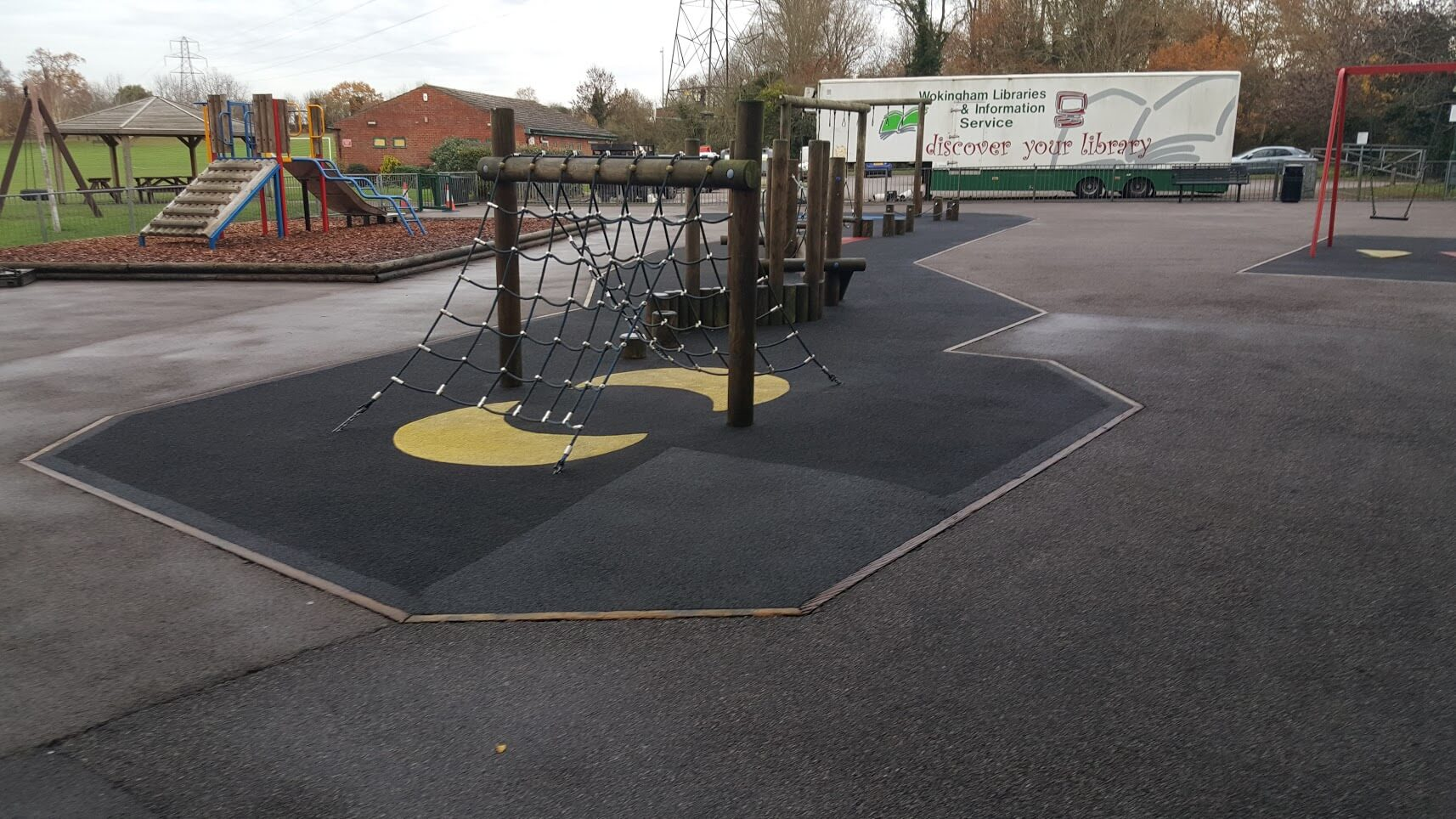 Clean your playground surfacing